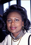 Anita Hill attending the 8th Annual Power Lunch for Women on November 14, 1994 at Rainbow Room in New York City.