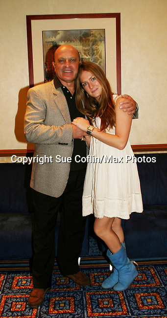 OLTL's Thom Christopher & BethAnn Bonner at the One Life To Live Fan Club Luncheon on August 16, 2008 at the New York Marriott Marquis, New York, New York.  (Photo by Sue Coflin/Max Photos)