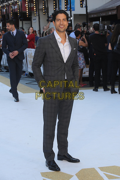 LONDON, ENGLAND - JUNE 30: Adam Rodriguez attends the European Premiere of Magic Mike XXL at Vue West End on June 30, 2015 in London, England.<br /> CAP/BEL<br /> &copy;Tom Belcher/Capital Pictures