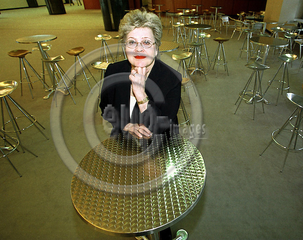 BELGIUM - BRUSSELS - 23 MARCH 2001--MEP Ulpu IIVARI (PSE) in the EU-Parliament.-- PHOTO: JUHA ROININEN / EUP-IMAGES