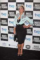 Silvia Superstar poses at `Dioses y perros´ film premiere photocall in Madrid, Spain. October 07, 2014. (ALTERPHOTOS/Victor Blanco) /nortephoto.com
