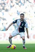 2nd February 2020; Allianz Stadium, Turin, Italy; Serie A Football, Juventus versus Fiorentina; Miralem Pjanic of Juventus on the ball