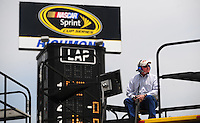 May 2, 2008; Richmond, VA, USA; NASCAR Sprint Cup Series team owner Richard Childress during practice for the Dan Lowry 400 at the Richmond International Raceway. Mandatory Credit: Mark J. Rebilas-US PRESSWIRE