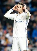 Real Madrid's Cristiano Ronaldo during La Liga match. March 1,2017. (ALTERPHOTOS/Acero) /NORTEPHOTOmex