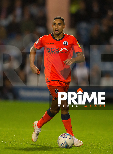Millwall's James Meredith during the Sky Bet Championship match between Queens Park Rangers and Millwall at Loftus Road Stadium, London, England on 19 September 2018. Photo by Andrew Aleksiejczuk / PRiME Media Images.