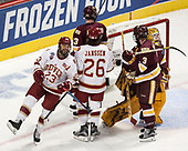 Matt Marcinew (DU - 23) - The University of Denver Pioneers defeated the University of Minnesota Duluth Bulldogs 3-2 to win the national championship on Saturday, April 8, 2017, at the United Center in Chicago, Illinois.