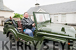 Athea Vintage Rally: Roger Harbour, Moyvane taking part in the Athea vintage rally in aid of the Butterfly Club for special needs children on Sunday last.