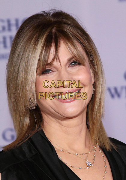 "MARKIE POST .""Ghost Whisperer""  Celebrates 100th Episode held at The XIV by Michael Mina restaurant, West Hollywood, California, USA, 1st March 2010..portrait headshot black smiling  necklace .CAP/ADM/TC.©T. Conrad/AdMedia/Capital Pictures."