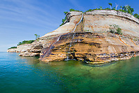 Bridal Veil Falls, Summer, Pictured Rocks National Lakeshore