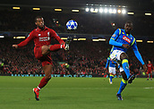 2018 UEFA Champions League Football Liverpool v Napoli Dec 11th