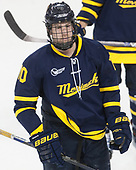 Derek Petti (Merrimack - 10) - The visiting Merrimack College Warriors defeated the Boston College Eagles 6 - 3 (EN) on Friday, February 10, 2017, at Kelley Rink in Conte Forum in Chestnut Hill, Massachusetts.