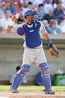 July 3rd 2007:  Wellington Castillo of the Peoria Chiefs at Elfstrom Stadium in Geneva, IL  Photo by:  Chris Proctor/Four Seam Images