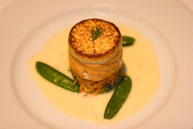 Salmon, Gary Danko Restaurant, San Francisco, California
