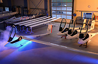 Segelflugzeug JS1: DEUTSCHLAND 01.04.2015:Segelflugzeug JS1 bei M und D Flugzeugbau in Friedeburg,
