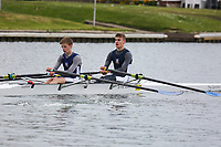 Crew: 347  EVE-HILL  Evesham Rowing Club  Op J16 2x<br /> <br /> Abingdon Spring Head 2019<br /> <br /> To purchase this photo, or to see pricing information for Prints and Downloads, click the blue 'Add to Cart' button at the top-right of the page.