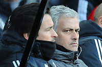 Manchester United manager Jose Mourinho during Newcastle United vs Manchester United, Premier League Football at St. James' Park on 11th February 2018