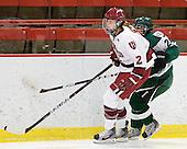Samantha Reber (Harvard - 12), Sasha Nanji (Dartmouth - 24) - The visiting Dartmouth College Big Green defeated the Harvard University Crimson 3-2 on Wednesday, November 23, 2011, at Bright Hockey Center in Cambridge, Massachusetts.