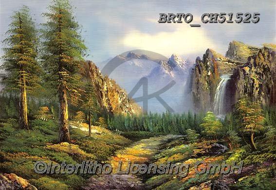 Alfredo, LANDSCAPES, LANDSCHAFTEN, PAISAJES, paintings+++++,BRTOCH51525,#l#, EVERYDAY ,puzzle,puzzles