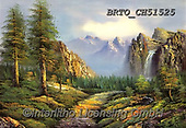 Alfredo, LANDSCAPES, LANDSCHAFTEN, PAISAJES, paintings+++++,BRTOCH51525,#l#, EVERYDAY ,puzzle,puzzles