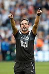 David Wagner manager of Huddersfield Town enjoys the win during the premier league match at the John Smith's Stadium, Huddersfield. Picture date 20th August 2017. Picture credit should read: Simon Bellis/Sportimage