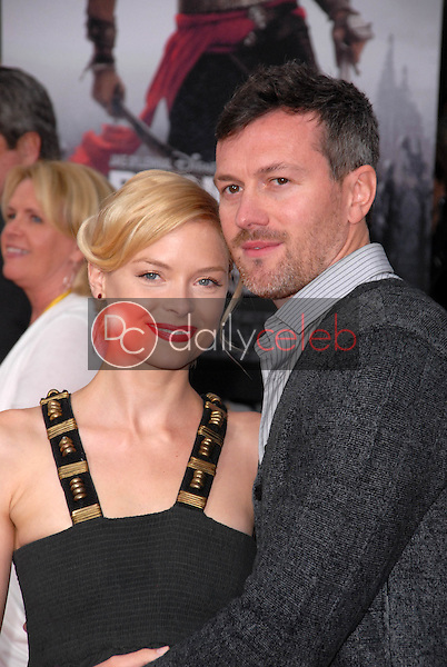 Jaime King and Kyle Newman<br />