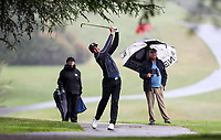 Mako Thompson, semi final v Kerry Mountcastle. New Zealand Amateur Championship, Wairakei Golf Course and Sanctuary, Taupo, New Zealand, Saturday 3 November 2018. Photo: Simon Watts/www.bwmedia.co.nz