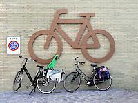 Plaats om fietsen te stallen