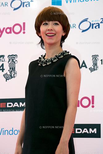 Kaela Kimura, June 14, 2014 : MTV VMAJ (Video Music Awards Japan 2014 at Maihama Amphitheater in Chiba, Japan. (Photo by Rodrigo Reyes Marin/AFLO)