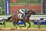 July 11, 2019 :  Armament #2, ridden by Irad Ortiz, opens the summer meet with a win in the first race at Saratoga Race Course in Saratoga Springs, New York. Alex Zhang/Eclipse Sportswire/CSM