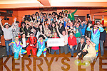 Pictured at the 80s themed fancy dress party at the Devon Inn Hotel on Saturday night were the participants of Movember Templeglantine Style.  78 Mo's took part in the event which raised €13,377 for the Irish Cancer Society.