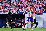 Victor Vitolo of Atletico de Madrid (R) in action during the La Liga match between Atletico Madrid and Eibar at Wanda Metropolitano Stadium on May 20, 2018 in Madrid, Spain. Photo by Diego Souto / Power Sport Images
