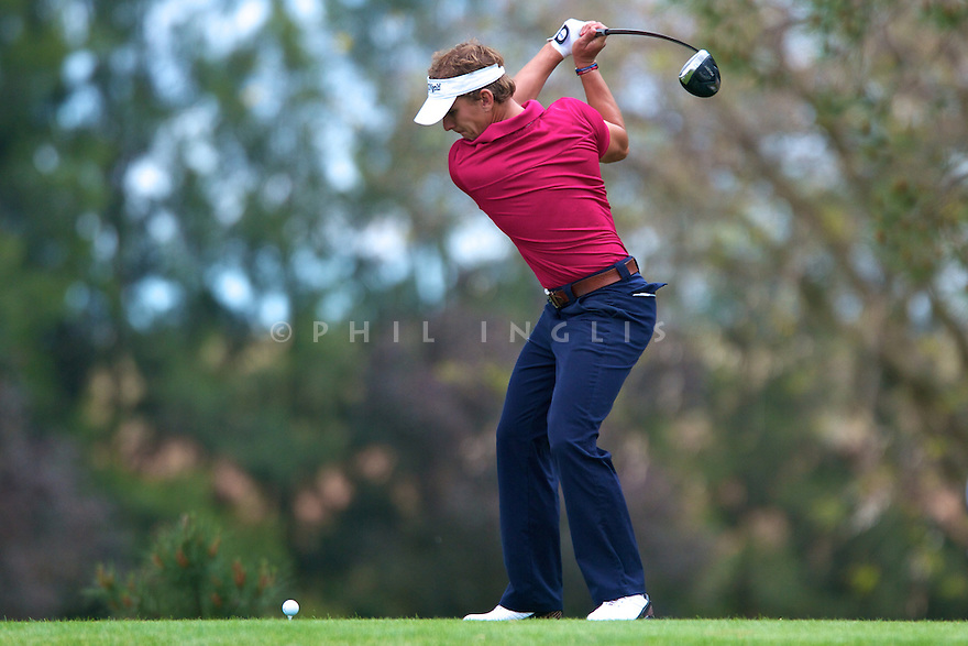 Joost Luiten (NED) in action during the Pro-Am of the Reale Seguros Open de Espana played at the Real Club de Golf de Sevilla, Seville, Andalucia, Spain 03-06 May 2012. (Picture Credit / Phil Inglis)