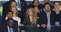 RIO DE JANEIRO, 30.06.2013 - COPA DAS CONFEDERAÇÕES - FINAL - BRASIL X ESPANHA - Shakira durante partida da final da Copa das Confederações Estádio do Maracanã, na zona norte do Rio de Janeiro, neste domingo, 30. (Foto: Vanessa Carvalho / Brazil Photo Press)