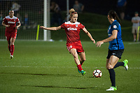 Kansas City, MO - Saturday May 27, 2017: Kristie Mewis during a regular season National Women's Soccer League (NWSL) match between FC Kansas City and the Washington Spirit at Children's Mercy Victory Field.
