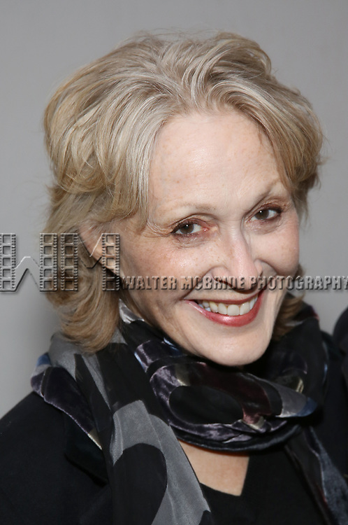 Jan Maxwell attends the Broadway Opening Night of 'Lillian Helman's The Little Foxes' at the  Samuel J. Friedman Theatre on April 19, 2017 in New York City
