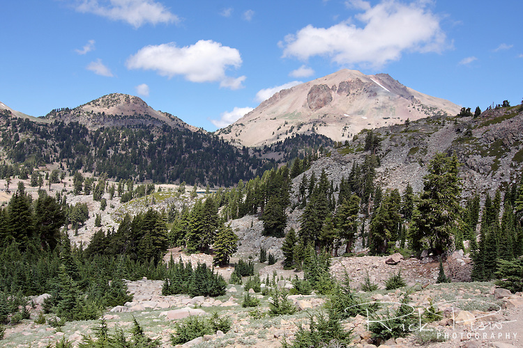 Rising 10,462 feet above sea level Mount Lassen is the southern most volcano in the Cascade Volcanic Arc. Lassen erupted on May 22, 1915, devastating nearby areas and raining volcanic ash as far away as 200 miles (320 km) to the east.