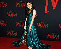 """LOS ANGELES - MAR 9:  Xana Tang at the """"Mulan"""" Premiere at the Dolby Theater on March 9, 2020 in Los Angeles, CA"""