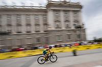 Drew Box of Australia during the 2017 Madrid ITU Triathlon World Cup in Madrid, May 28, 2017. Spain.. (ALTERPHOTOS/Rodrigo Jimenez) /NortePhoto.com