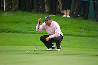 Ryder Cup.Jose Maria Olazabal practises on the Palmer Course at the K Club..Photo: Eoin Clarke/ Newsfile..