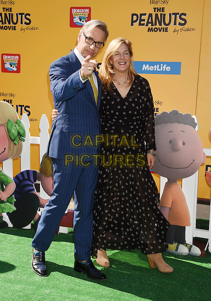 WESTWOOD, CA - NOVEMBER 01: Director Paul Feig and guest attend the Premiere of 20th Century Fox's 'The Peanuts Movie' at the Regency Village Theatre on November 1, 2015 in Westwood, California.<br /> CAP/ROT<br /> &copy;Lee Roth/Capital Pictures