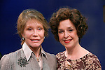 """***EXCLUSIVE COVERAGE*** Mary Tyler Moore visits the cast of """"Enter Laughing"""" at the York Theatre Company in New York City.<br />February 26, 2009<br />pictured: Mary Tyler Moore & Jill Eikenberry<br />e"""