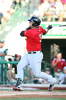 Quad Cities River Bandits Matt Adam during the Midwest League All Star Game at Parkview Field in Fort Wayne, IN. June 22, 2010. Photo By Chris Proctor/Four Seam Images