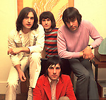 Kinks 1969 Dave Davies, Ray Davies, John Dalton and Mick Avory..© Chris Walter..