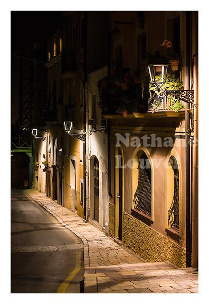 Tarragona at night
