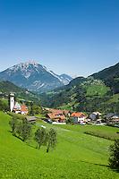 Austria, Tyrol, Pitztal Valley, Wenns in Pitztal Valley | Oesterreich, Tirol, Pitztal, Wenns im Pitztal