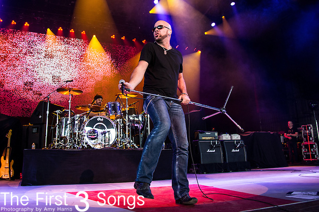 Jason Bonham of Jason Bonham's Led Zeppelin Experience performs at Riverbend Music Center in Cincinnati, Ohio.