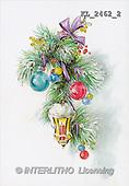 Interlitho, CHRISTMAS SANTA, SNOWMAN, nostalgic, paintings, branch, lantern, balls(KL2462/2,#X#) Weihnachten, nostalgisch, Navidad, nostálgico, illustrations, pinturas