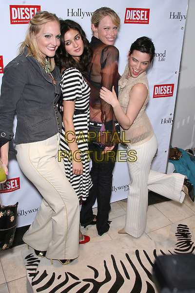 Meghan Fabulous, Caroline D'Amore, Lesa Amoore, Kelly Nishimoto.The Young Hollywood Awards Countdown Party held at Liberace's Penthouse, Los Angeles, California, USA, 30 March 2006..full length.Ref: ADM/ZL.www.capitalpictures.com.sales@capitalpictures.com.©Zach Lipp/AdMedia/Capital Pictures.