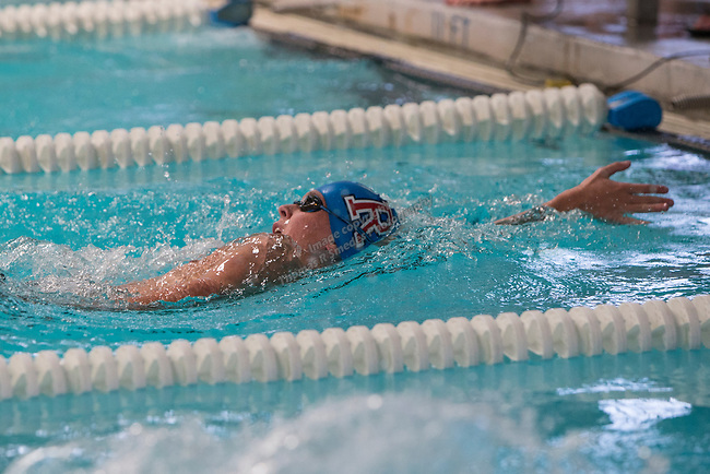Reno's Nathan McAlister competes in the boys 4A 200 yard IM race during the State Swimming Meet in Carson City on Saturday, May 20, 2017.
