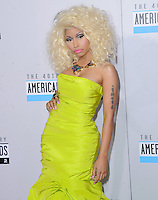 Nicki Minaj at The 2012 American Music  Awards held at Nokia Theatre L.A. Live in Los Angeles, California on November 18,2012                                                                   Copyright 2012  Debbie VanStory / iPhotoLive.com